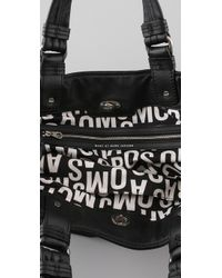 Marc By Marc Jacobs Black Totally Turnlock Lucy Tote