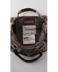 Marc By Marc Jacobs Gray M Standard Supply Small Cargo Satchel