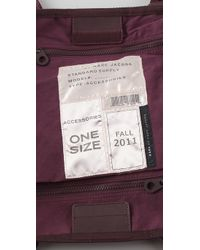 Marc By Marc Jacobs Purple M Standard Supply Tote