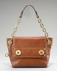 MILLY | Brown Chain Strap Bag | Lyst