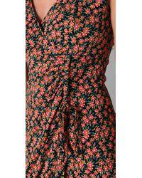 Nanette Lepore Black Sea Biscuit Printed Jersey Dress