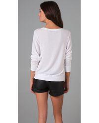Wildfox | White Love Potion No. 9 Beach Sweatshirt | Lyst