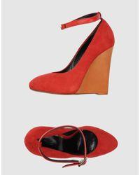 Céline | Red Wedge | Lyst