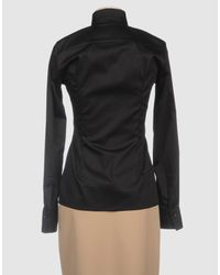 Entre Amis - Black Long Sleeve Shirt - Lyst