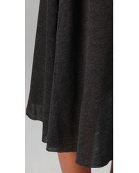 Enza Costa Black Long Slip Dress