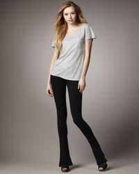 Joe's Jeans | Skinny Micro Flare Jeans, Black | Lyst