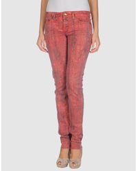 Just Cavalli | Red Jeans | Lyst