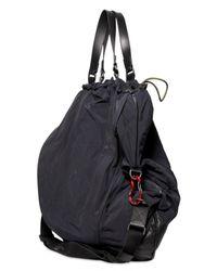 Lanvin | Black Nylon and Calfskin Bag for Men | Lyst