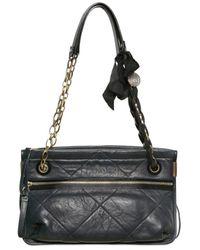 Lanvin Blue Medium Amalia Quilted Bag