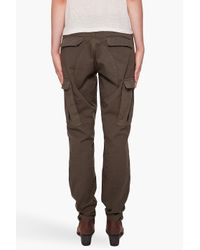 Rag & Bone Green Combat Pants