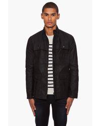 Rag & Bone Black Sandwell Jacket for men