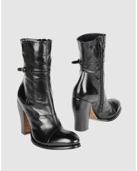 Rocco P | Black Pitone Kurt Boots | Lyst