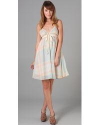 Dallin Chase | Multicolor Pastel Plaid Desmond Dress | Lyst