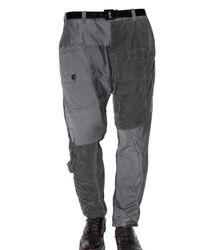 Dolce & Gabbana | Gray Patchwork Cargo Washed Denim Jeans for Men | Lyst
