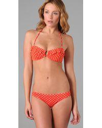 Eberjey - Red Mimi Bikini Top - Lyst