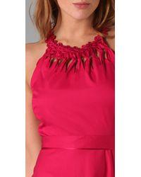 Elie Tahari - Red Bryce Dress - Lyst