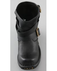 Jeffrey Campbell - Black Rouges Wrap Strap Booties - Lyst