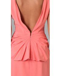 Rebecca Minkoff - Pink Nico Open Back Dress - Lyst