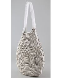 Tom Binns Metallic Large Studded Bag