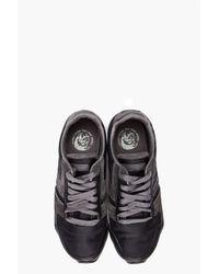 DIESEL Black Loop Sneakers for men