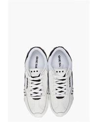 DIESEL White Epenime Sneakers for men