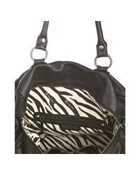 Linea Pelle - Black Leather 48 Hour Overnight Bag - Lyst