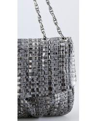 Elie Tahari Gray Emory Handbag