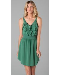 Rebecca Taylor | Green Spring Fling Dress | Lyst