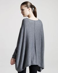 The Row | Dolman-sleeve Sweater, Heather Gray | Lyst