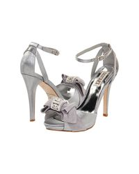 Badgley Mischka - Metallic Baby - Lyst