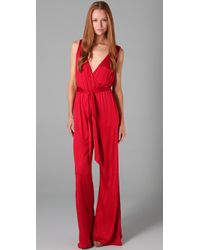 Lucy In Disguise | Red The Roxy Jumpsuit | Lyst