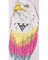 Wildfox   The Desert Eagle Baggy Beach Jumper in Clean White   Lyst
