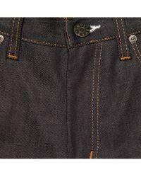 Acne Blue Max Raw Slim-fit Stretch-denim Jeans for men