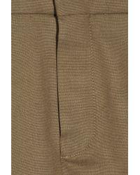 Chloé - Brown Stretch-wool Mini Skirt - Lyst