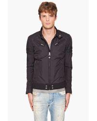 DIESEL - Black Jupenno Jacket for Men - Lyst