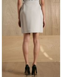Preen By Thornton Bregazzi | White Womens Quail Skirt | Lyst