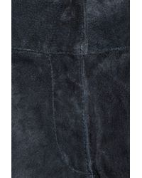 Proenza Schouler - Blue Suede Skinny Pants - Lyst