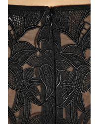 Stella McCartney Black Guipure Lace Top