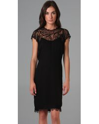 Doo. Ri - Black Embroidered Cocoon Dress - Lyst