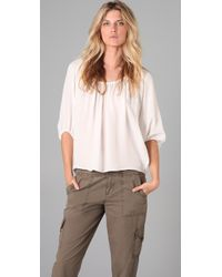 Joie | White Newbury Top | Lyst