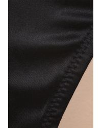 Myla Black Body Silk Thong