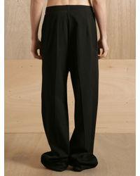 Raf Simons Black Raf Simons Mens No Waistband Trousers for men