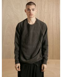 Raf Simons Gray Raf Simons Mens Unbroken Sweatshirt for men