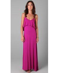 90f4fb15822 Lyst - T-bags Maxi Dress in Pink