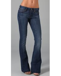 7 For All Mankind - Blue The Jiselle Flare Jeans - Lyst
