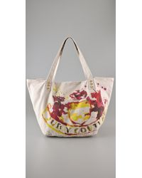 Juicy Couture | Natural Gen Y Watercolor Crest Tote | Lyst