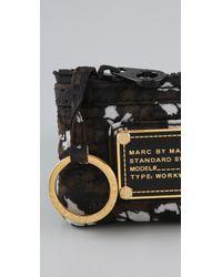 Marc By Marc Jacobs Black Pretty Nylon Key Pouch