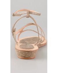 Rebecca Minkoff | Natural Beach Babe Strappy Sandals | Lyst