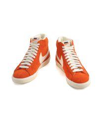 Nike | Orange Blazer Mid Premium Vintage Dark Cooper Sail for Men | Lyst