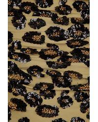 Manoush Multicolor Sequin-embellished Leopard-print Swimsuit
